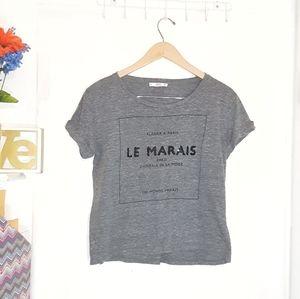MNG | 'Le Marais' Graphic Tee